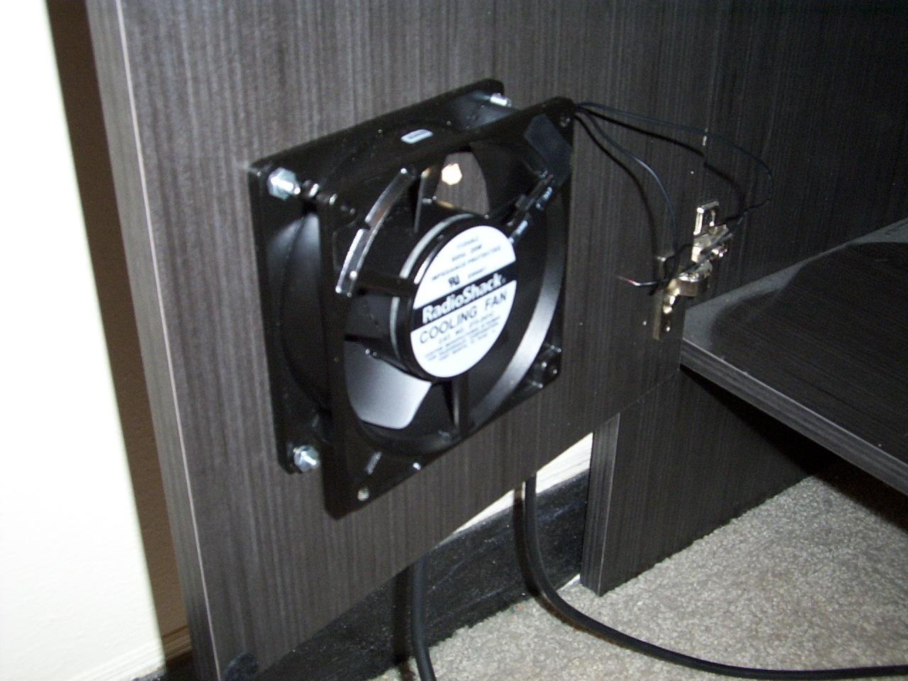 The fan mounted & Fans Projects
